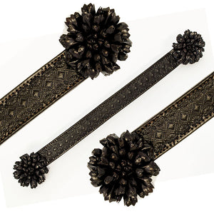 Dark Brown Leather Sarina Browband