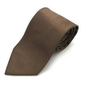 Bronze & Brown Tie