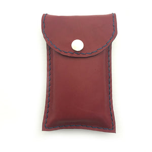 Leather Tissue Purse