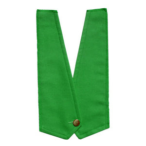 emerald false waist coat