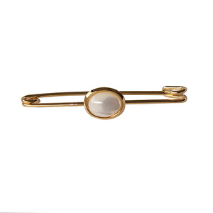 Gold & Mother of Pearl Pin
