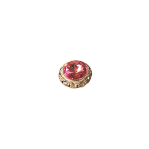 Small Pink Swarovski Pin
