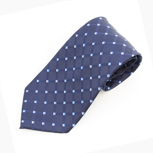 Navy & Pale Blues Tie