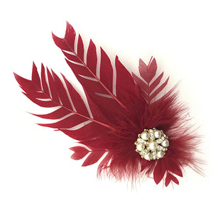 Red Feather Trim