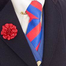 Load image into Gallery viewer, Red & Blue Stripe Tie