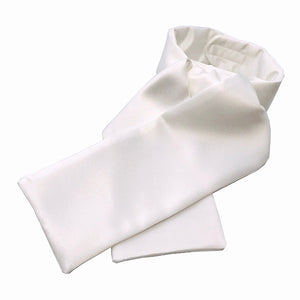 Warm White Satin Stock