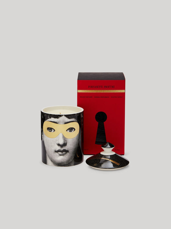Fornasetti Otto Scented Golden Burlesque Candle