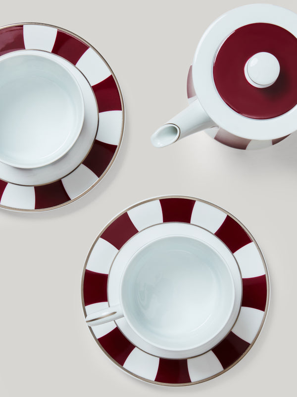 The Fumoir China Set for Two