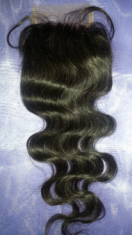 Virgin Hair Lace Closure