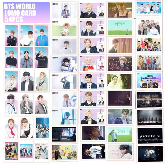kpop exchange bts world photocards