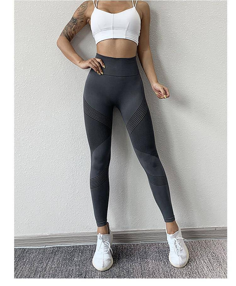 "Fitness Leggings ""Jue"" - High Waist - GYMAHOLICS"