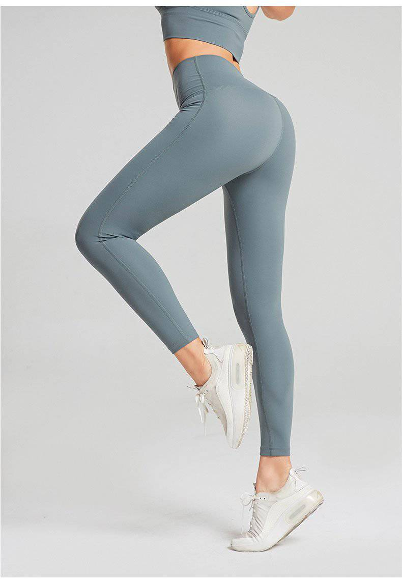 "High Waist Leggings ""Caty"" - mit Push-Up Effekt - GYMAHOLICS"
