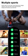 "Fitness Smartwatch ""Faiz"" - Großes Display - GYMAHOLICS"