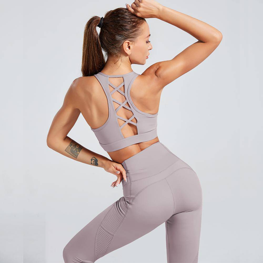 "Fitness Set ""Yin"" - Sport BH & Leggings - GYMAHOLICS"