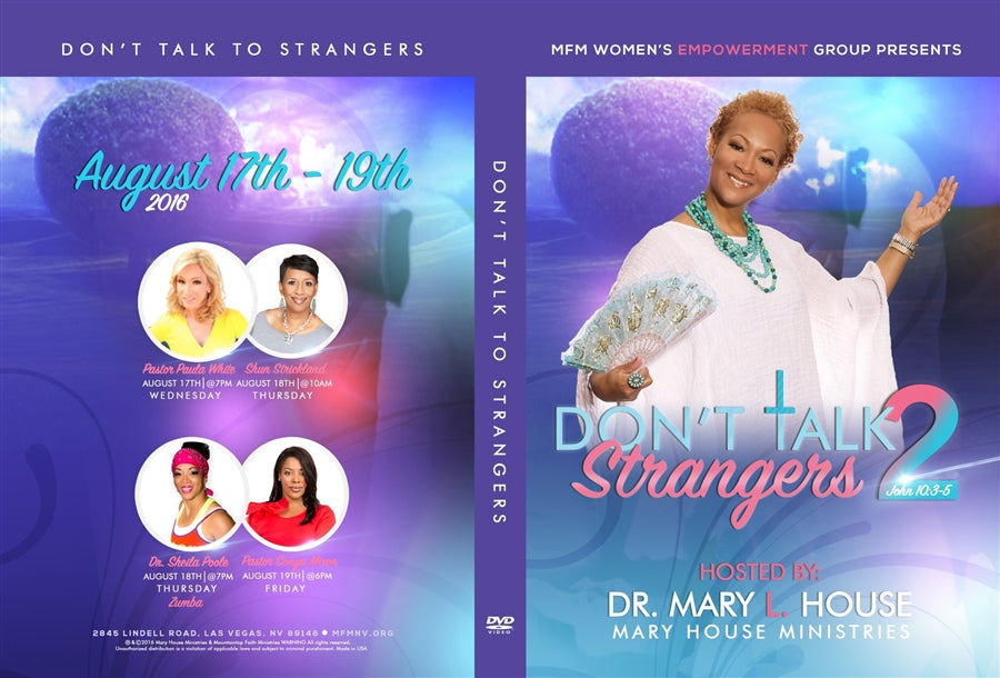 Don't Talk To Strangers 2016 Conference DVD