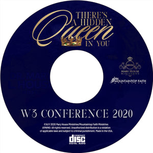 W3 Conference - Dr. Stacia Pierce (message only) mp3