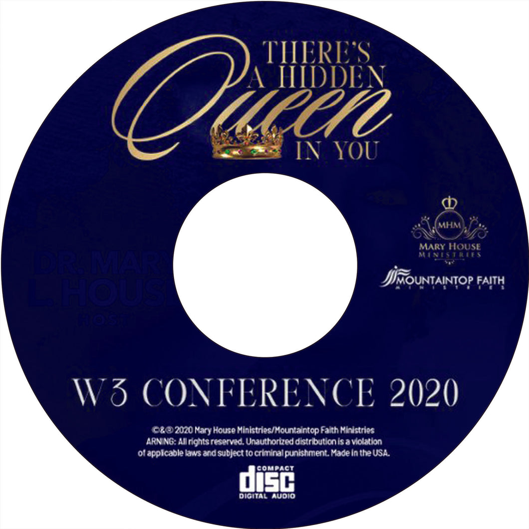 W3 Conference - Dr. Stacia Pierce (message only) CD