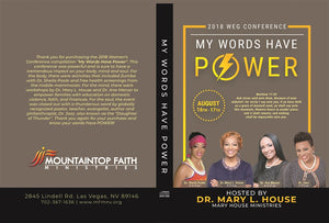 My Words Have Power 2018 Conference CD