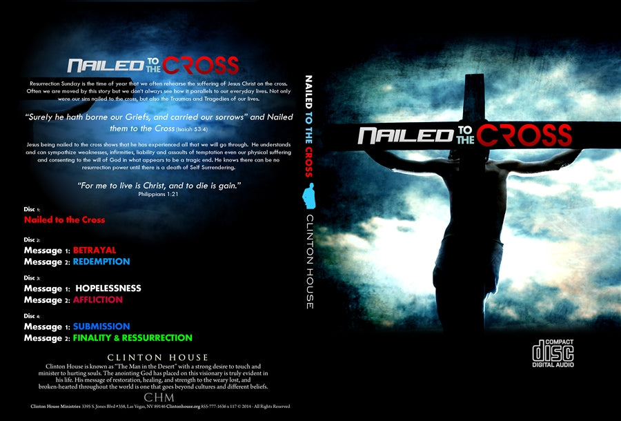 Nailed To The Cross (4 Part CD Series)