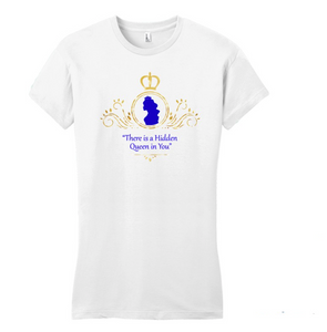 There's A Hidden Queen In You Conference shirts