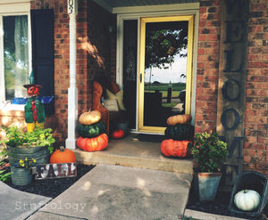 A Rustic Fall Porch