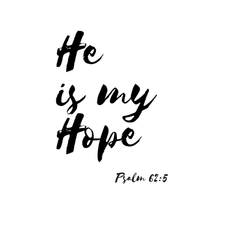 He is my Hope