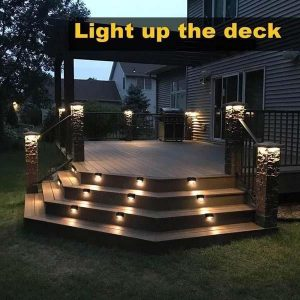 16/12/8/4PCS Solar Deck Lights