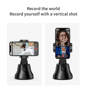 Auto Face Tracking Smart Shooting Phone Holder 360° Rotation