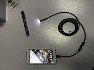 7mm Lens Endoscope Camera Android USB