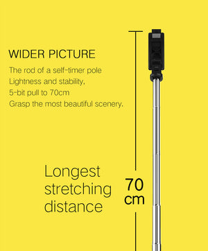 3 in 1 Wireless Bluetooth Selfie Stick for iphone/Android/Huawei