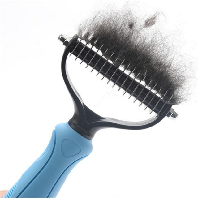 Deshedding Brush Grooming Tool For Pets