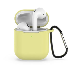 Luminous Case for Apple Airpods 2/1 Case Keychain