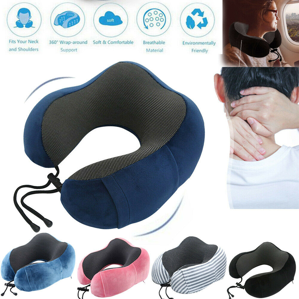 U Shaped Memory Foam Travel Neck Pillows