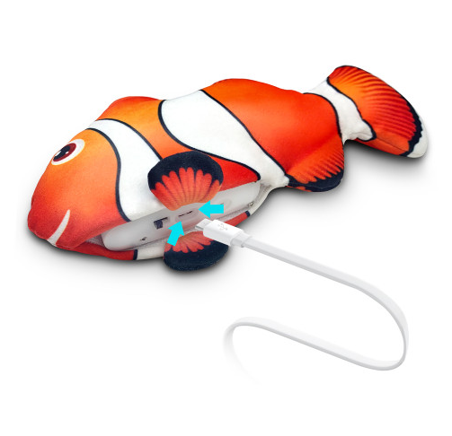 Vibrating Fish Electronic Cat Toy USB Charging