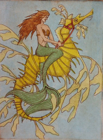 Mermaid & Sea Dragon