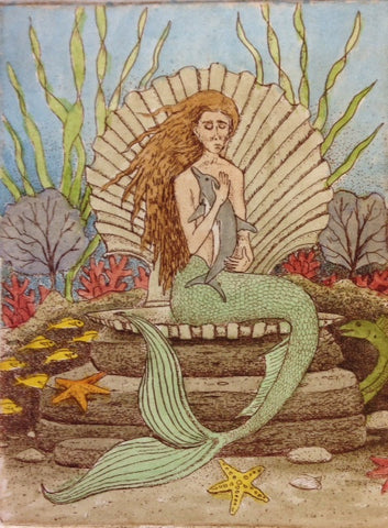 Resting Mermaid
