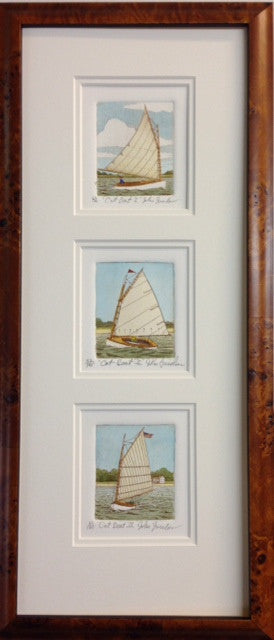 3 Catboat Vertical framed