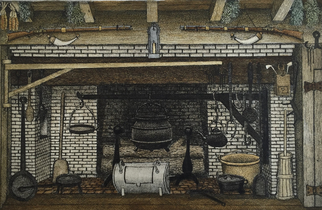The Colonial Fireplace