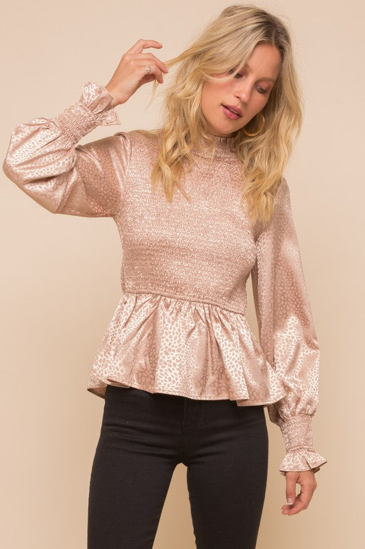 Make Me Blush Blouse