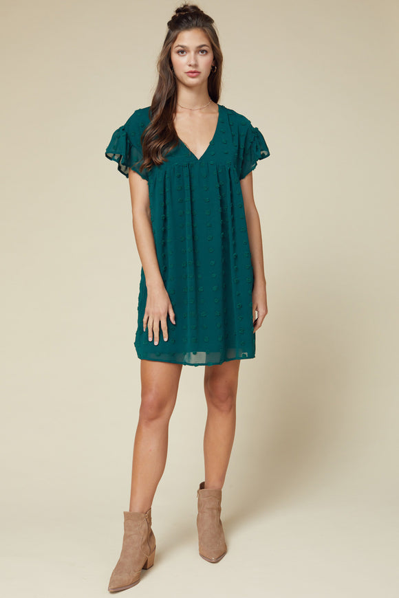 Dressed to Frill Babydoll Dress