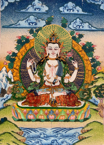 Art as a Spiritual Practice - Owning Buddhist Thangka Art for Enlightenment