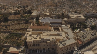 DB4K_005 - Beautiful 4K aerial footage of Bethlehem and Church of Nativity