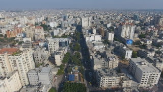 DG4K 006 - Gaza 4K Drone Footage 6 - Aerial 4K video of Gaza City