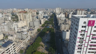 DG4K 029 - Gaza 4K Drone Footage 29 - Aerial 4K video of Eastern Gaza Strip