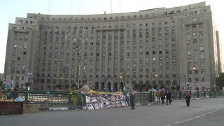 Egypt 009 Egypt Stock Footage: Al Tahrir square in Cairo