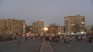 Egypt 010 Egypt Stock Footage: Al Tahrir square in Cairo