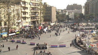 Egypt 011 Egypt Stock Footage: Al Tahrir square in Cairo