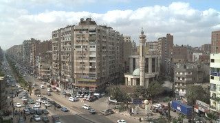 Egypt 019 Egypt Stock Footage: Cairo - Mohandesin area
