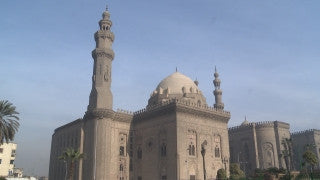 Egypt 025 Egypt Stock Footage: Al Azhar mosque