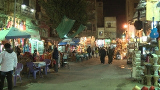 Egypt 032 Egypt Stock Footage: Khan al Halili, Cairo